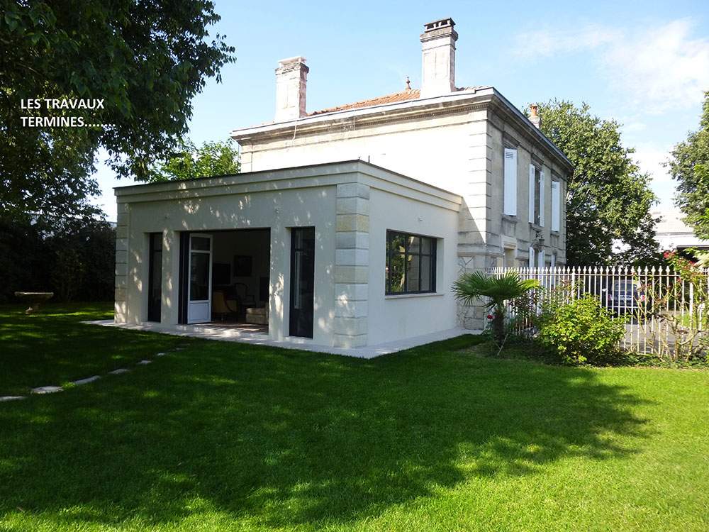 Renovation Bordeaux Villa Cap Ouest Construction Maison Gironde