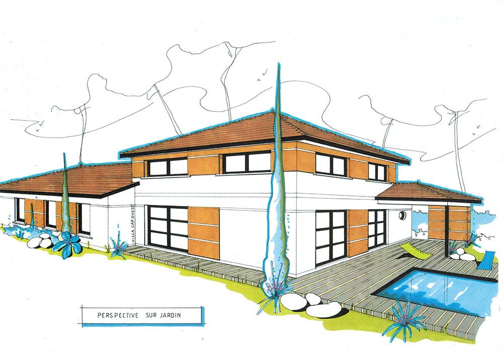 plan de maison haut de gamme